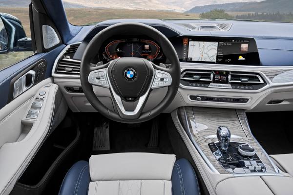 BMW X7 tecnologia a bordo